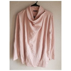 Street One, wrap across front blouse or cardigan